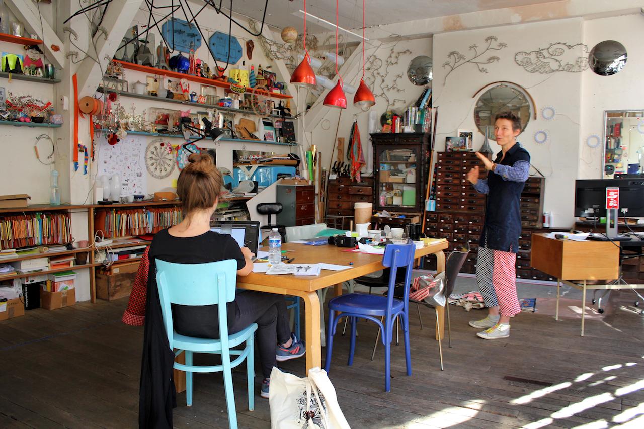 Tsé-Tsé Atelier in Paris - kreative Künstlerinnen