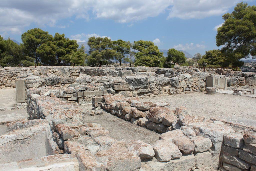 Phaistos - ein Besuch auf Kreta mit der Kulturbrücke Paris-berlin
