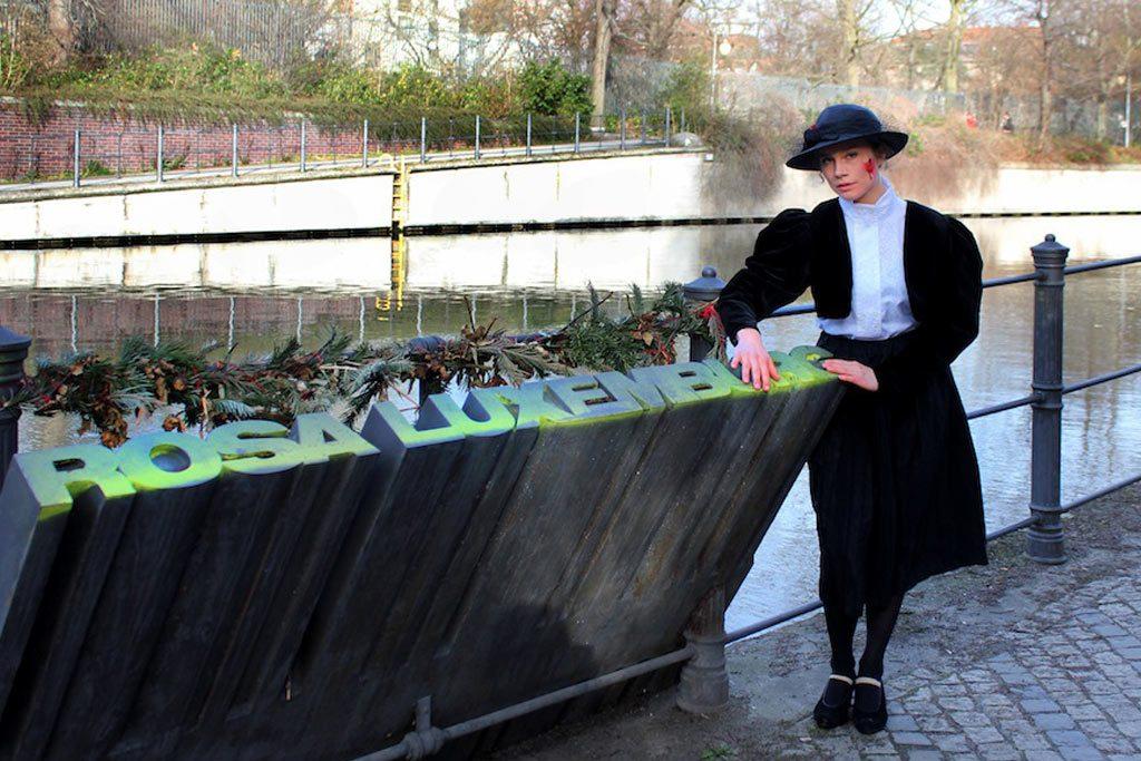 Rosa Luxemburg in Berlin - ein Kulturspaziergang