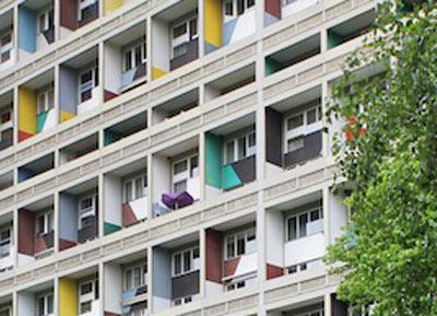 Französisches Berlin: Corbusierhaus – Le Corbusier