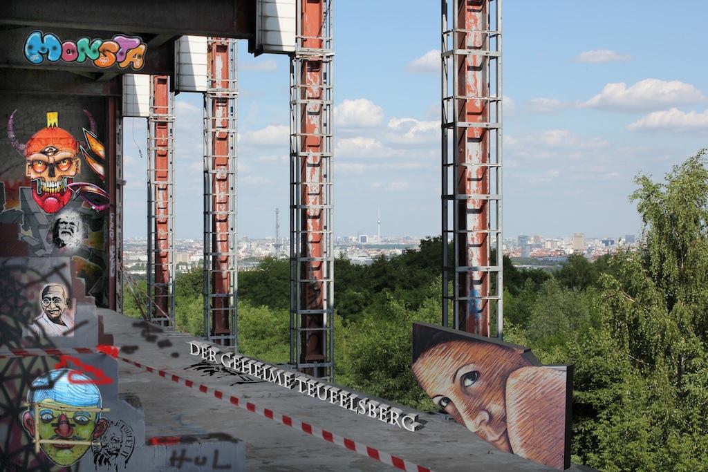 teufelsberg in Berlin - ein geheimnisvoller Ort