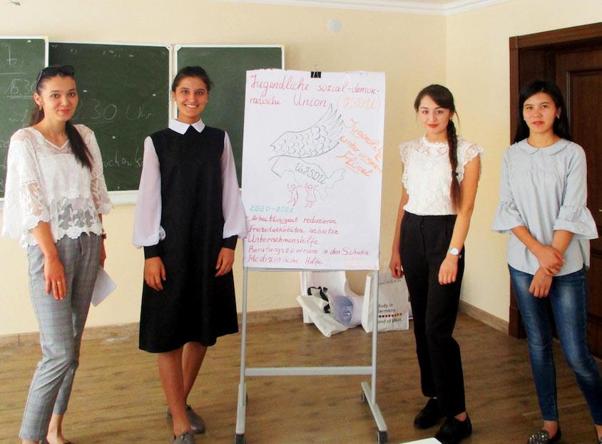 Deutsch lernen in Taschkent, Usbekistan