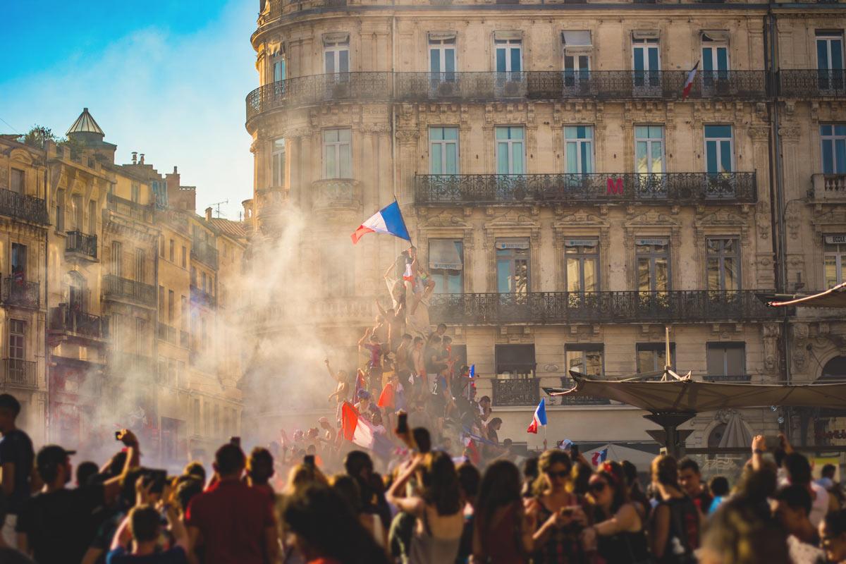 Französischer NAtionalfeiertag - Bonne Feté