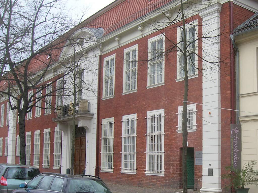 Stasigefängnis Lindenhotel Potsdam - Bürgerliche Fassade