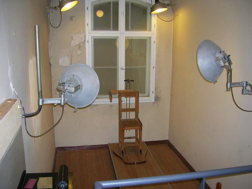 Stasigefängnis Lindenhotel Potsdam - Verhörraum