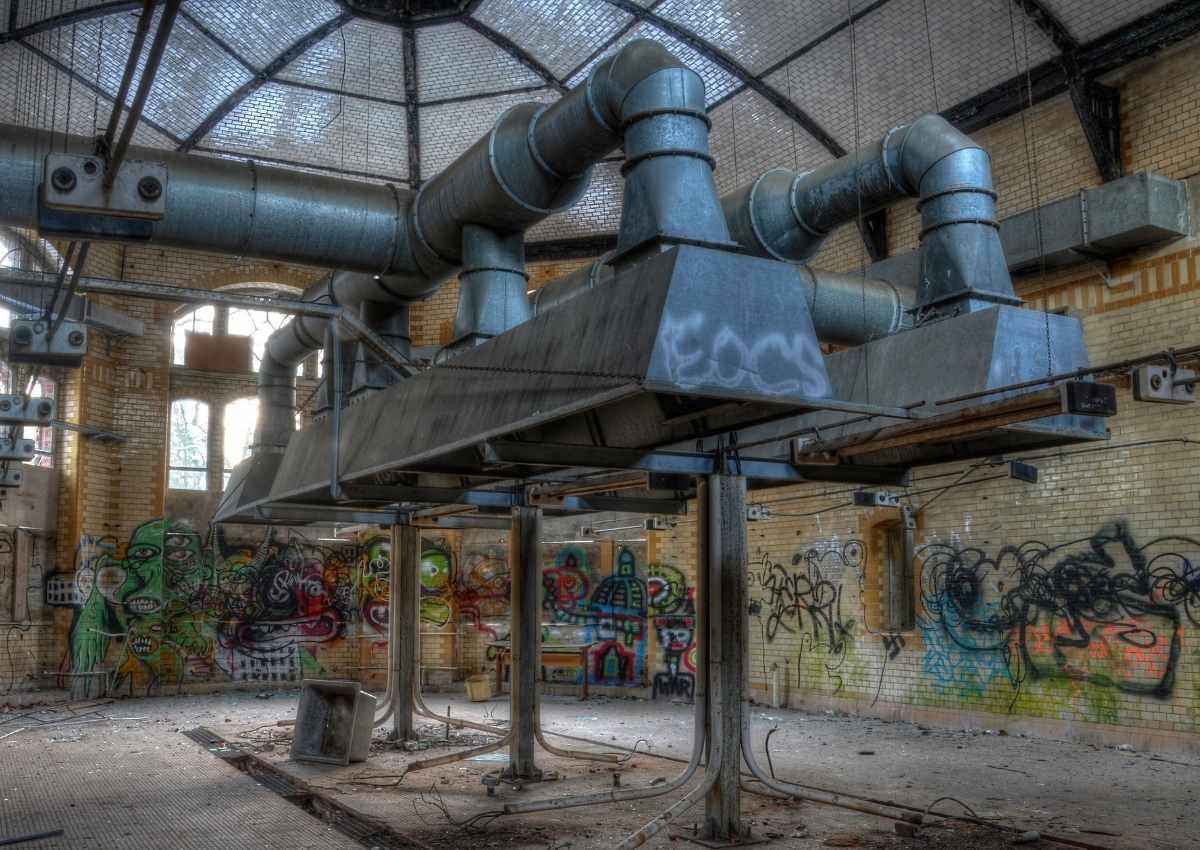 Heilstätte Beelitz - Geheimnisvoll die Aperatur